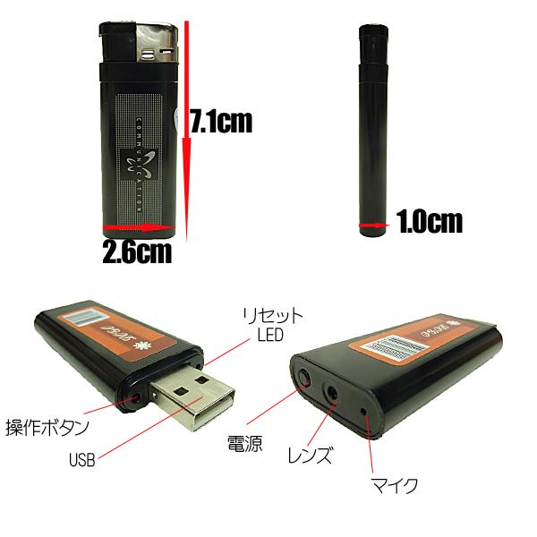 小型カメラの説明