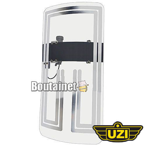 UZI シールド型スタンガン【乾電池式】【大サイズ】
