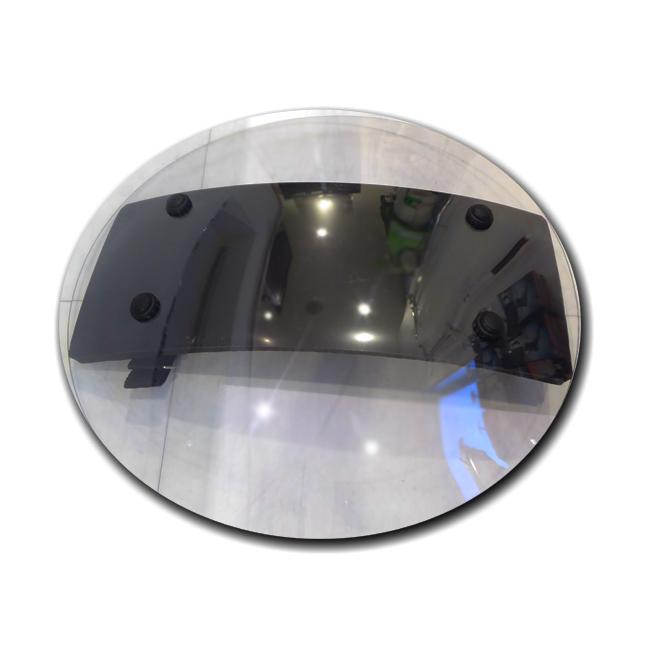 小型 透明 防護盾 【片手用】【直径500mm】【3.5mm】