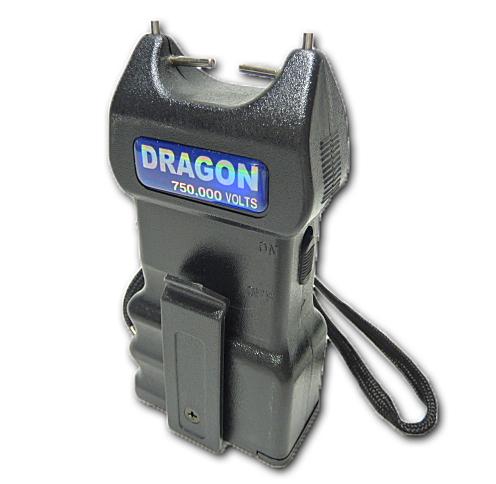 ドラゴン ハンディースタンガン 75万V【乾電池式】
