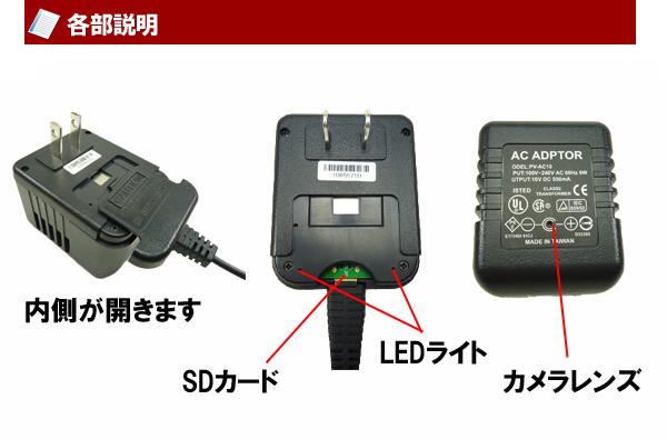 アダプター型カメラ 説明
