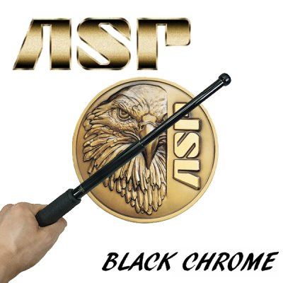 画像1: 特殊警棒ASPブラッククローム