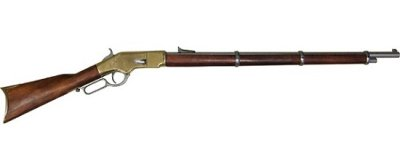 画像1: DENIX デニックス 1117 ウィンチェスターM66マスケット銃(USA 1866年 122.5cm)