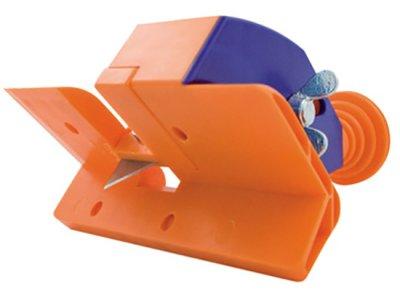 画像1: 手動工具 EDMA エドマ 石膏ボード工具 スタッフプロ 0613 エッジ加工 カッティング