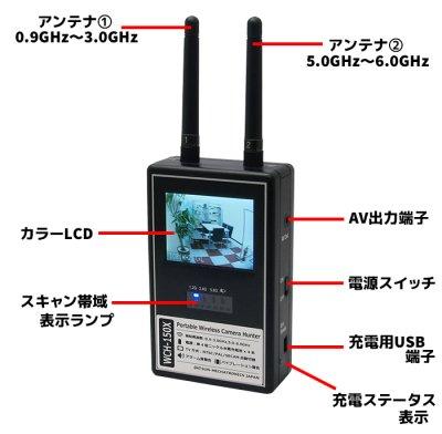 画像2: 盗撮カメラ発見器 WCH-150X【サンメカトロニクス社製】