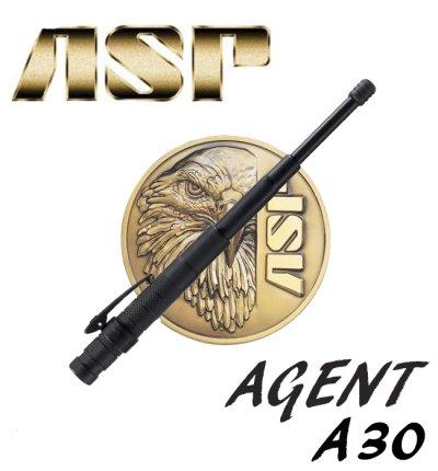 画像1: ASP警棒 エージェントA30  【AGENT A30】【4140鋼】