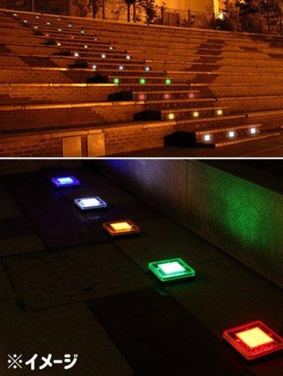 画像2: 埋込み式 ソーラー LEDライト 防水 ポリカーボネート 遊歩道 埋込 屋外 ソーラー 点灯 誘導灯 配線不要 省エネ 防犯 庭