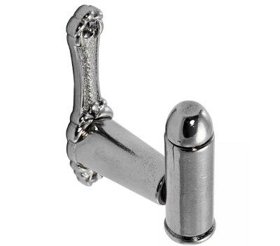画像2: DENIX デニックス 6035 ブレット ハンガー シルバー 壁掛け ハンガー ガンハンガー フック ディスプレイ 銃 刀 模造