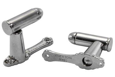 画像4: DENIX デニックス 6035 ブレット ハンガー シルバー 壁掛け ハンガー ガンハンガー フック ディスプレイ 銃 刀 模造