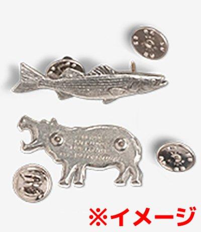 画像2: コレクションピン バタフライフィッシュ 271P ハンドペイント 魚 ピンズ バッチ スズ ピューター ピンバッジ【ゆうパケット発送可】