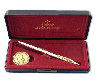 画像2: フィッシャー スペース ペン スペース シャトル 30周年記念 メダル付き ボールペン fisher ギフト プレゼント ペン