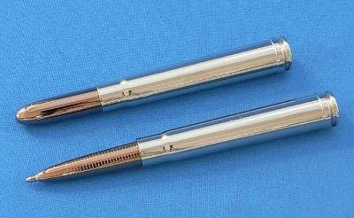 画像2: フィッシャー スペース ペン 375 ブリットペン シルバー .375 H&Hマグナム ボールペン fisher ペン