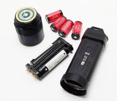 画像4: フラッシュライト NITECORE ナイトコア P36 CREE MT-G2 LEDライト MAX2000ルーメン タクティカル 懐中電灯 LED  ライト
