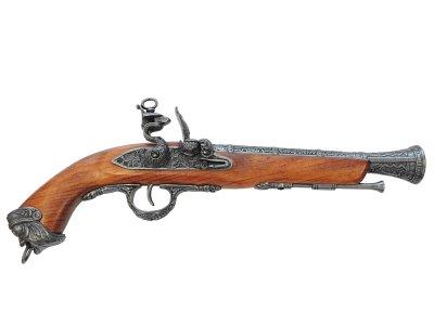 画像1: DENIX デニックス 1031/G イタリアンフリントロック グレー(18世紀 39cm 690g)