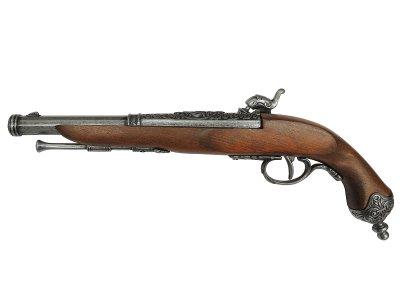 画像2: DENIX デニックス 1013/G イタリアンピストル グレー 1825年 レプリカ 銃 モデルガン