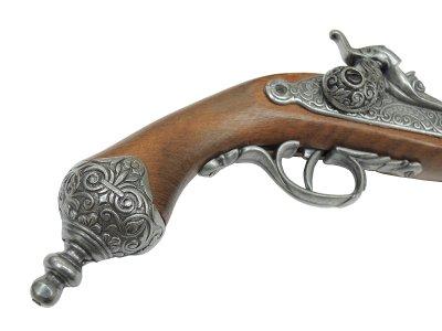 画像5: DENIX デニックス 1013/G イタリアンピストル グレー 1825年 レプリカ 銃 モデルガン