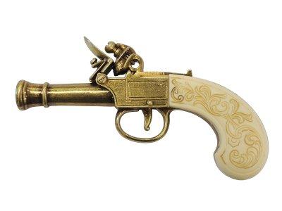 画像2: DENIX デニックス 237/L フリントロック ロンドン ゴールド 18世紀 レプリカ 銃 モデルガン