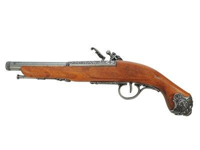 画像2: DENIX デニックス 1077/G フリントロック グレー レプリカ 銃 モデルガン