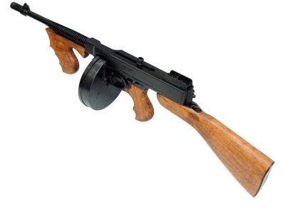 画像3: DENIX デニックス 1092 M1 サブマシンガン トンプソンモデル M1928 レプリカ 銃 モデルガン