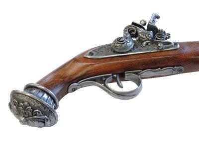 画像5: DENIX デニックス 1078/G フリントロック グレー 18世紀 レプリカ 銃 モデルガン