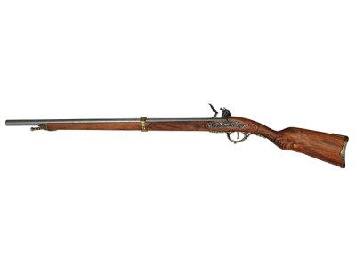 画像2: DENIX デニックス 1080/L ナポレオン ライフル ゴールド レプリカ 銃 モデルガン