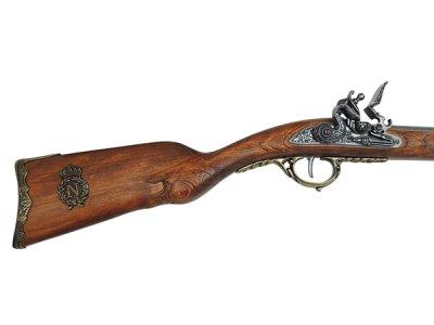 画像4: DENIX デニックス 1080/L ナポレオン ライフル ゴールド レプリカ 銃 モデルガン