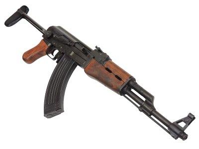 画像3: DENIX デニックス 1097 AK-47 カラシニコフ 折り曲げ床尾付 レプリカ 銃 モデルガン ソビエト アサルト