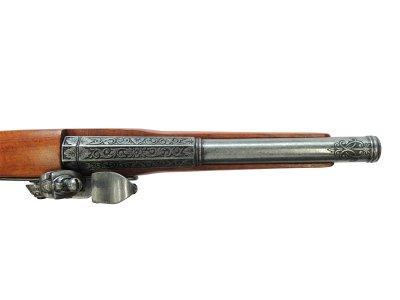 画像4: DENIX デニックス 1077/G フリントロック グレー レプリカ 銃 モデルガン