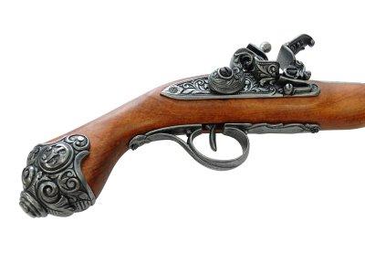 画像5: DENIX デニックス 1077/G フリントロック グレー レプリカ 銃 モデルガン