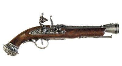 画像1: DENIX デニックス 1078/G フリントロック グレー 18世紀 レプリカ 銃 モデルガン