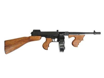 画像2: DENIX デニックス 1092 M1 サブマシンガン トンプソンモデル M1928 レプリカ 銃 モデルガン