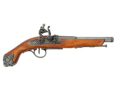 画像1: DENIX デニックス 1077/G フリントロック グレー レプリカ 銃 モデルガン