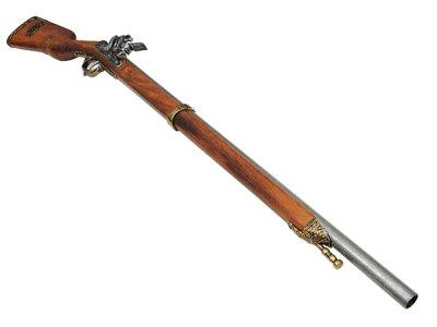 画像3: DENIX デニックス 1080/L ナポレオン ライフル ゴールド レプリカ 銃 モデルガン