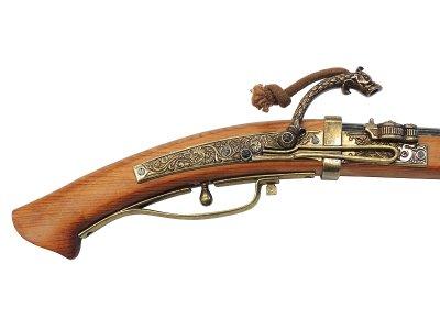 画像5: DENIX デニックス 1272 火縄銃 種子島 ポルトガル 伝来モデル 模造 レプリカ 銃 モデルガン