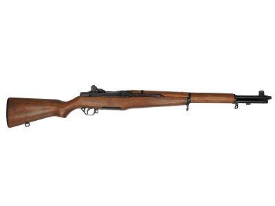 画像1: DENIX デニックス 1105 M1ガーランド ブラック WWII ライフル レプリカ 銃 モデルガン