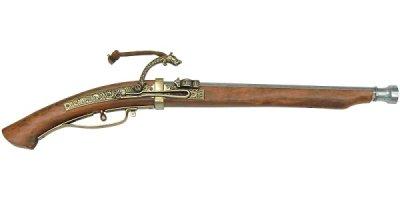 画像1: DENIX デニックス 1272 火縄銃 種子島 ポルトガル 伝来モデル 模造 レプリカ 銃 モデルガン