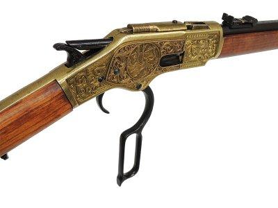 画像4: DENIX デニックス 1253/L ウィンチェスター M73 彫刻 レプリカ 銃 モデルガン