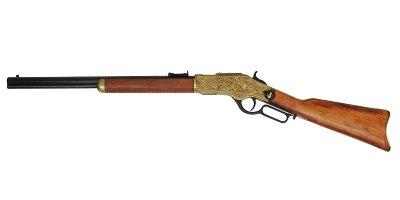 画像2: DENIX デニックス 1253/L ウィンチェスター M73 彫刻 レプリカ 銃 モデルガン