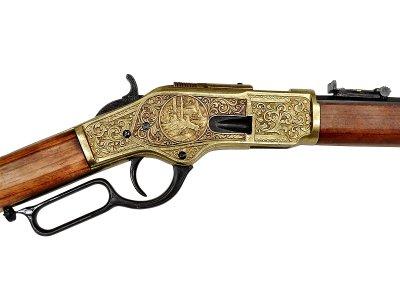 画像5: DENIX デニックス 1253/L ウィンチェスター M73 彫刻 レプリカ 銃 モデルガン