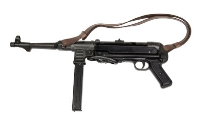 画像1: DENIX デニックス 1111/C MP40 サブマシンガン ベルト付 レプリカ 銃 モデルガン