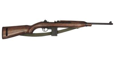 画像1: DENIX デニックス 1122/C M1 カービン ウィンチェスター ベルト付 レプリカ 銃 ライフル モデルガン