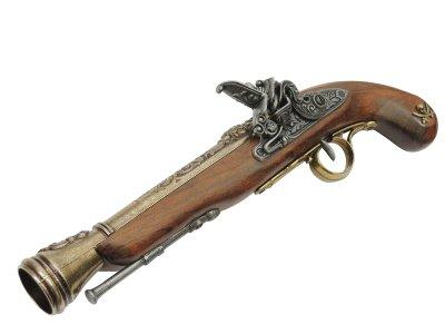 画像3: DENIX デニックス 1126/L 海賊ピストル ゴールド 左手用 レプリカ 銃 モデルガン