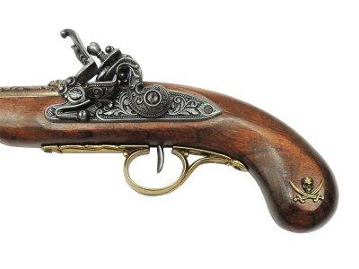 画像5: DENIX デニックス 1126/L 海賊ピストル ゴールド 左手用 レプリカ 銃 モデルガン