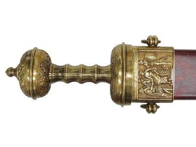 画像4: DENIX デニックス 4116/L シーザー デラックス ソード ゴールド 模造刀 レプリカ 剣 刀