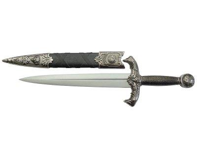 画像2: DENIX デニックス 4139/NQ アーサー王 ダガー ザ エクスキャリバー シルバー 模造刀 レプリカ キングアーサー 剣 刀 ソード