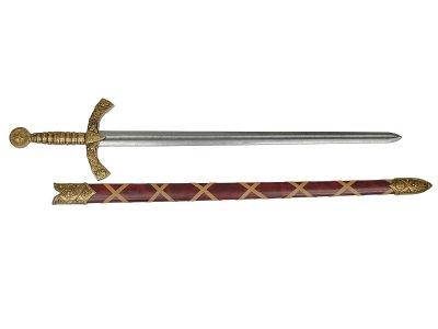 画像2: DENIX デニックス 4163/L ナイトテンプラー ソード ゴールド 十字軍 模造刀 レプリカ 剣 刀 ロング 騎士テンプラー