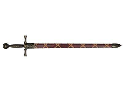 画像1: DENIX デニックス 4170/L アーサー王 ソード ザ エクスキャリバー ゴールド 模造刀 レプリカ 剣 刀 ロング エクスカリバー
