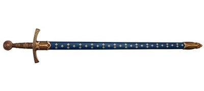 画像1: DENIX デニックス 5201 メディーバルソード ブルー 青 14世紀 模造刀 レプリカ 剣 刀 ソード