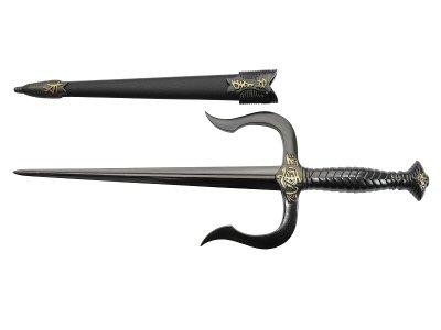 画像2: DENIX デニックス 4178/N サイ ディフェンス ダガー ブラック 模造刀 16世紀 レプリカ 剣 刀 ソード 短剣 釵