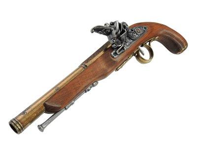 画像3: DENIX デニックス 1128/L フリントロック ゴールド 18世紀 左手用 レプリカ 銃 モデルガン